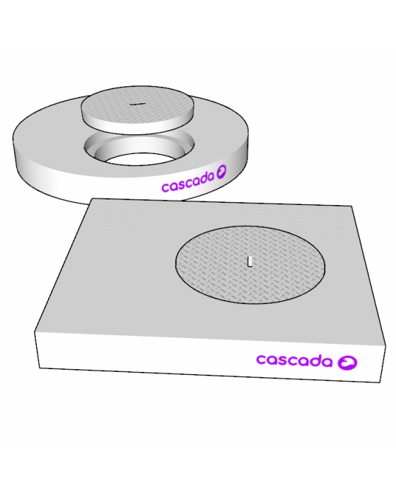 Round Non-Trafficable Access Covers