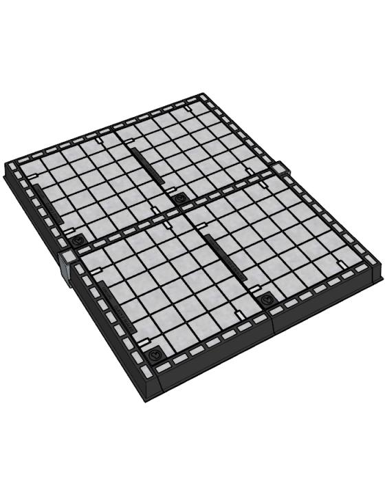 Infill Multipart Class D Access Covers